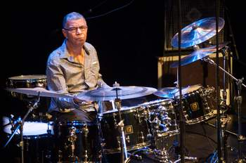 Jack DeJohnette spielte auf dem Klassiker 'Bitches Brew'. © Getty Images