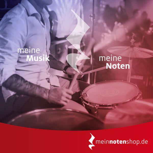 Noten für Drummer im meinnotenshop.de online kaufen.