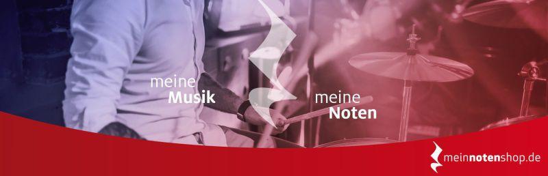 Noten für Schlagzeug in meinnotenshop.de online kaufen