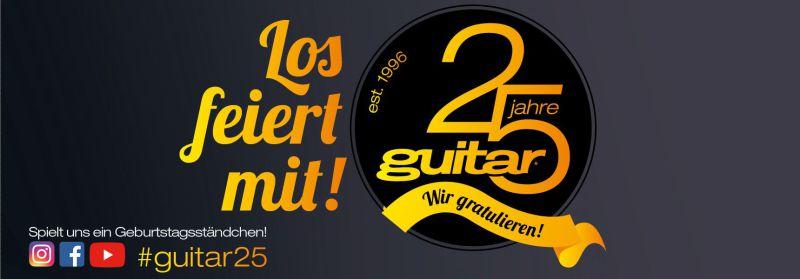 guitar 25 Jahre